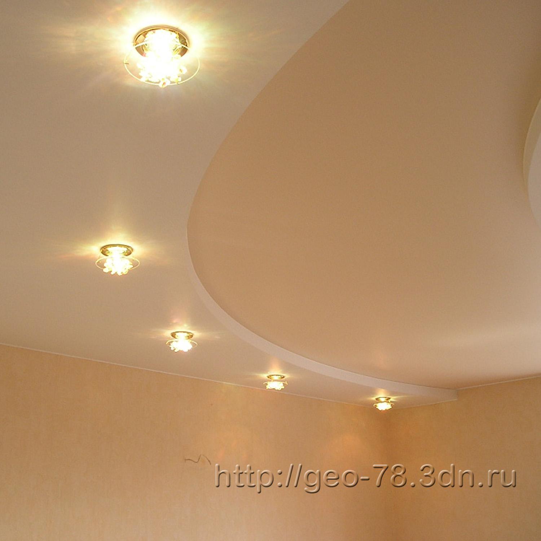 Потолки из гипсокартона фото для зала своими руками